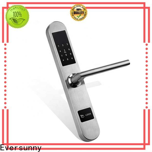 Eversunny keypad punch code door locks smart for door