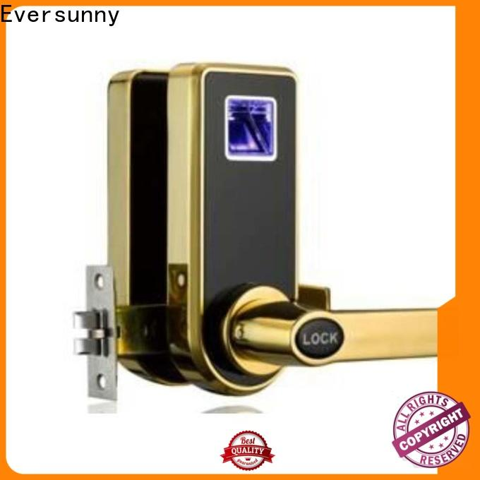 Eversunny safe fingerprint lock knob for interior rooms