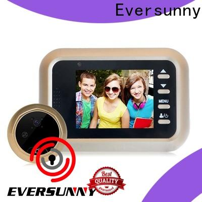 Eversunny digital peephole viewer with wide angle for sliding door
