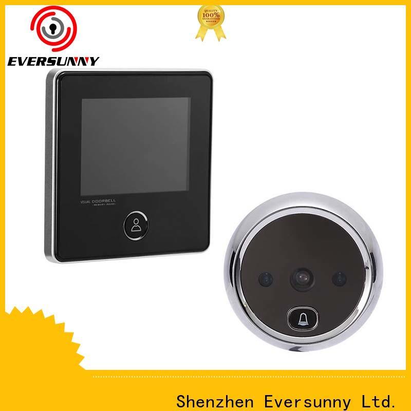 smart digital door viewer power-saving for aluminium door