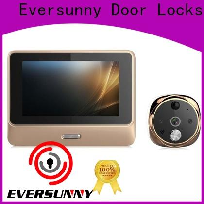 electronic digital peephole viewer wifi prevent damage for doorbell camera