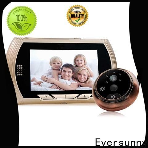 Eversunny video peephole wifi Video intercom for peepholecam