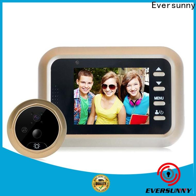 Eversunny digital door viewer with motion sensor LCD for home