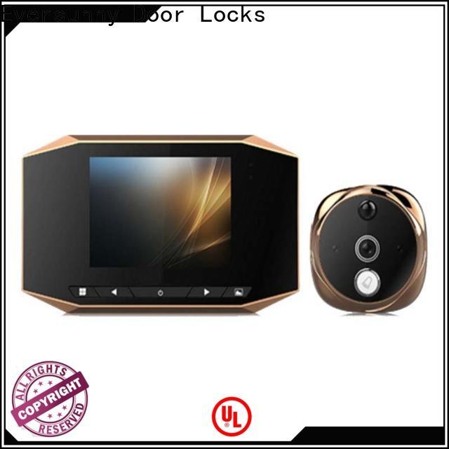 Eversunny door peephole viewer Energy-saving for front door