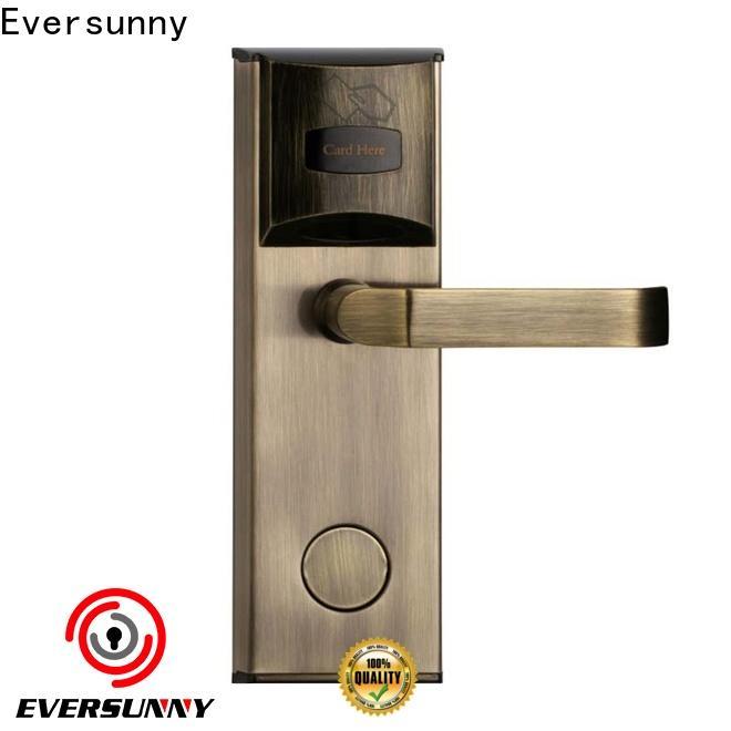 Eversunny card access door lock energy-saving for hotel