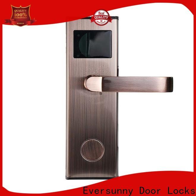 Eversunny card reader door lock hotel smart locks for door