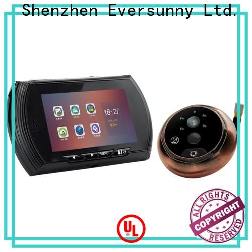 Eversunny Visual Peephole door viewer with motion sensor intelligent for office