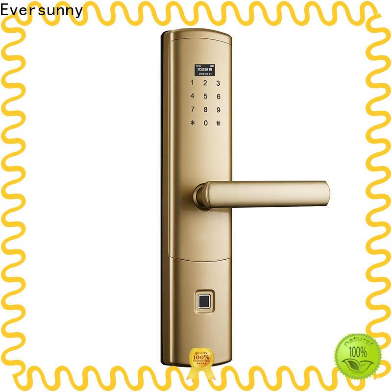 Eversunny fingerprint door lock uk supplier for house