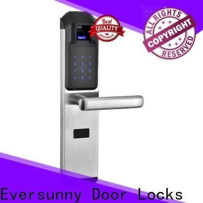 intelligent fingerprint door lock price factory price for house