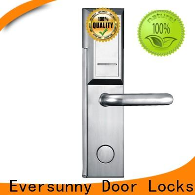 Eversunny reliable card access door lock system with central management control system for apartment