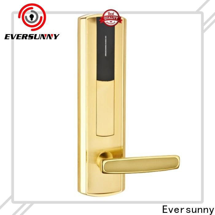 Electronic electronic card lock system stainless steel for hotel