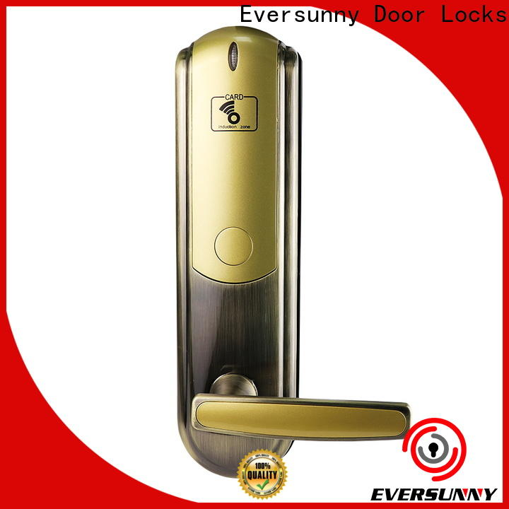 Eversunny smart door access card system with central management control system for door