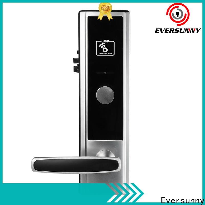 Eversunny hotel key card lock hotel smart locks for hotel