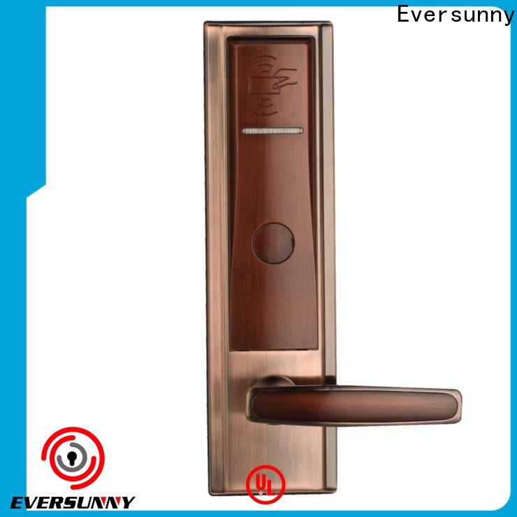 Eversunny practical hotel card lock system hotel smart locks for door