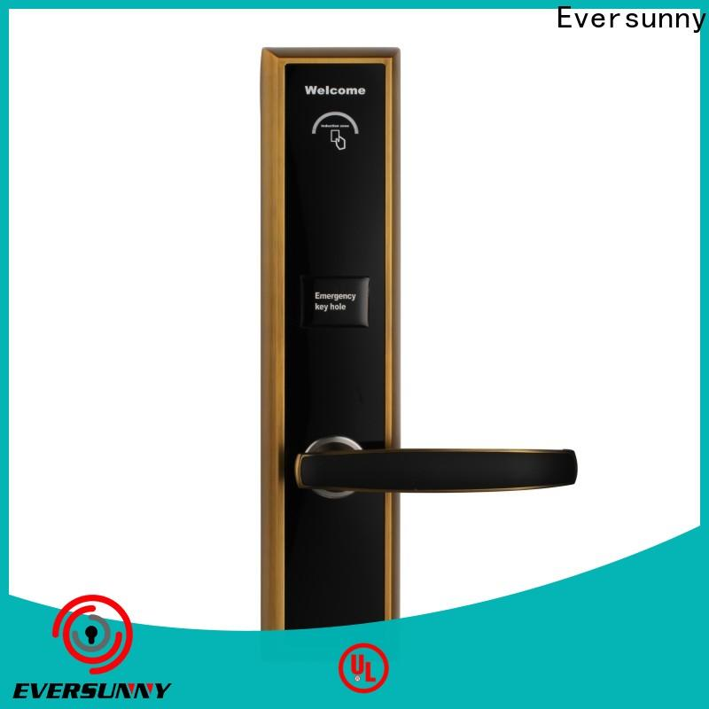 Eversunny card door entry system stainless steel for hotel