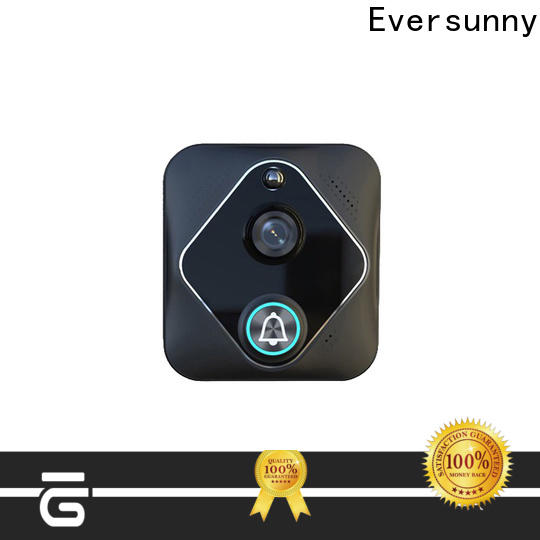 Eversunny smart wifi enabled doorbell with central management control system for apartment