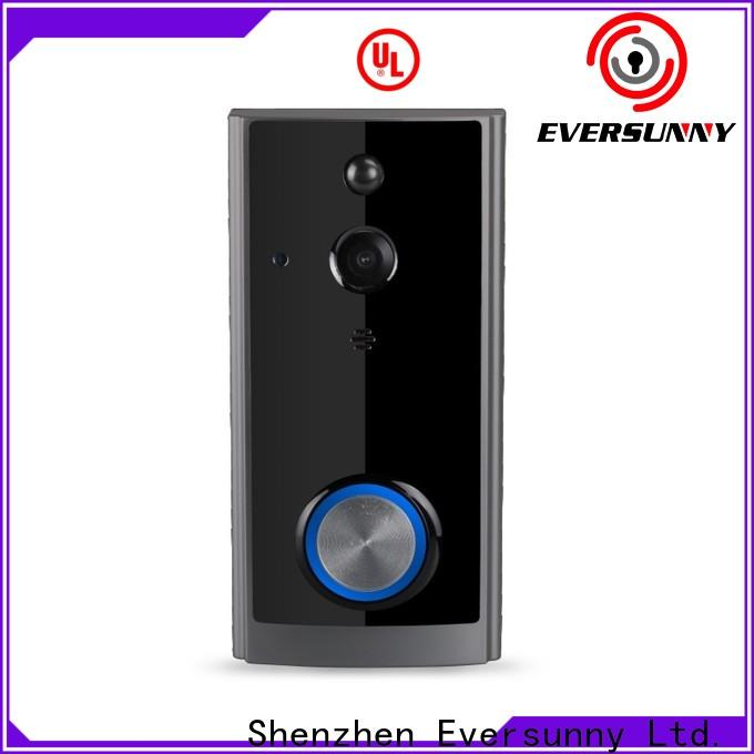 Eversunny ring wifi doorbell hotel smart locks for hotel