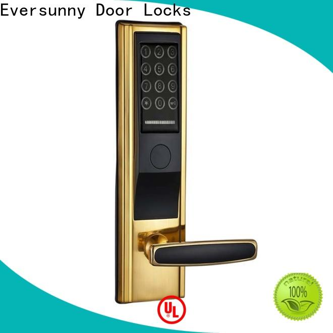 Eversunny security code entry locks touch screen for door