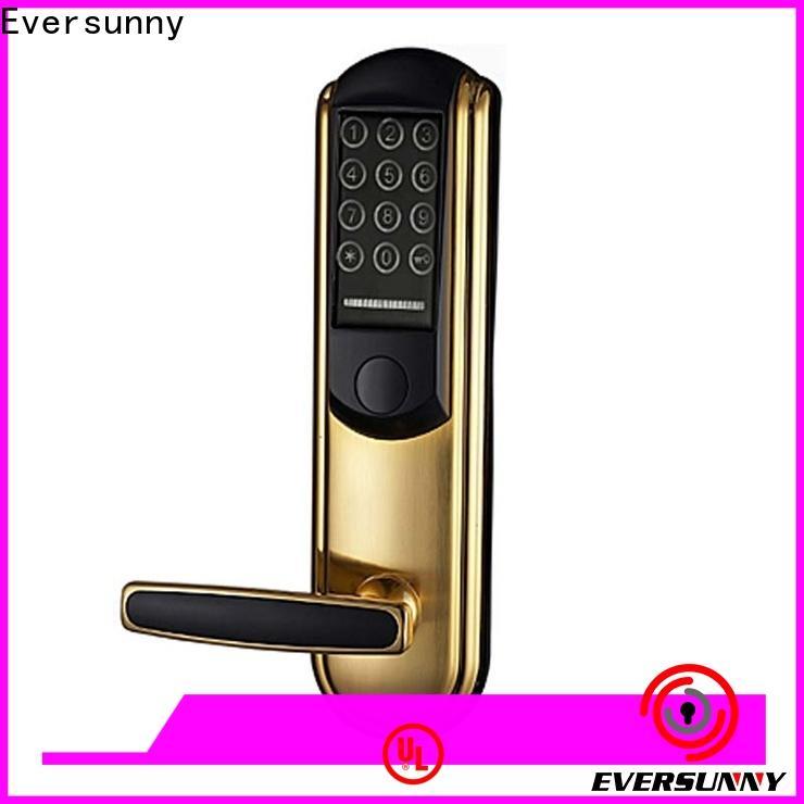 Eversunny key code door lock energy-saving for apartment
