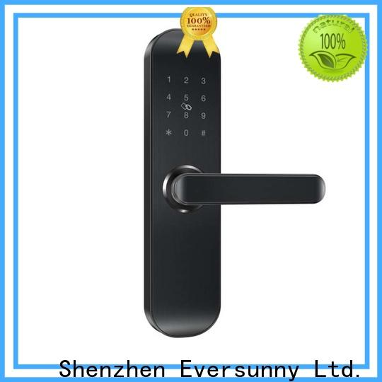 Eversunny keypad number code door lock touch screen for office