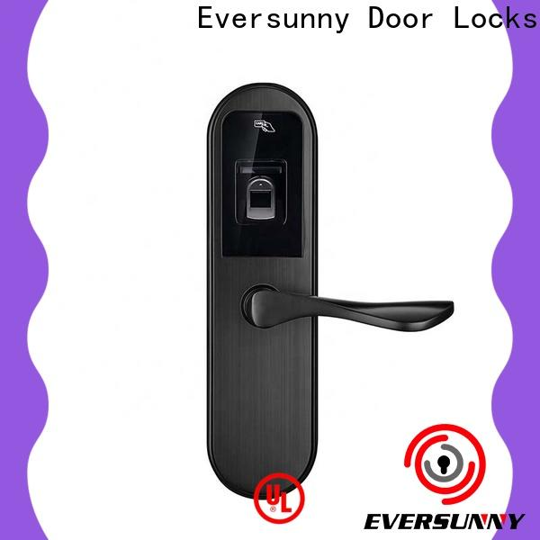 Eversunny smart security fingerprint lock interior rooms for interior rooms