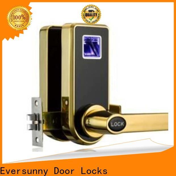 Eversunny durable fingerprint door lock system deadbolt for apartment