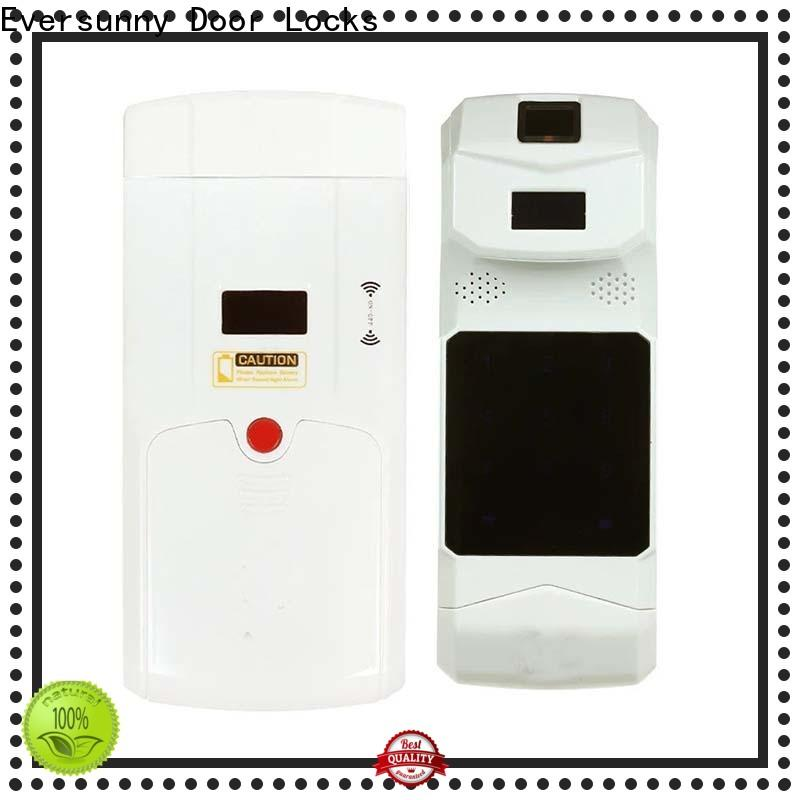 wireless smart invisible door lock mobile controlled for villa