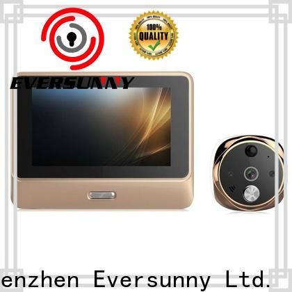 convenient digital door viewer wifi Video intercom for peepholecam