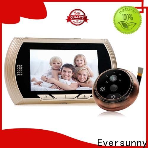 Eversunny convenient digital door viewer wifi digital HD for doorbell camera