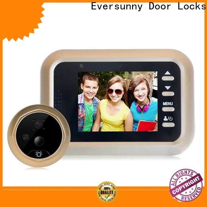 Eversunny Visual Peephole door peephole viewer Large angle for home