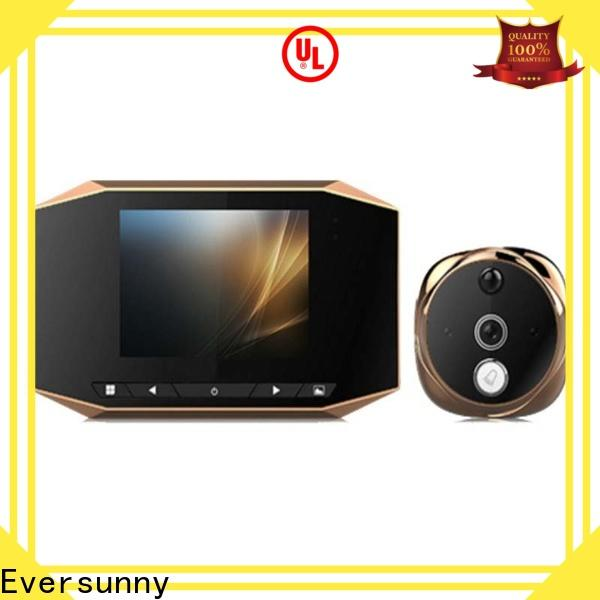 Eversunny security motion activated digital peephole lens for front door
