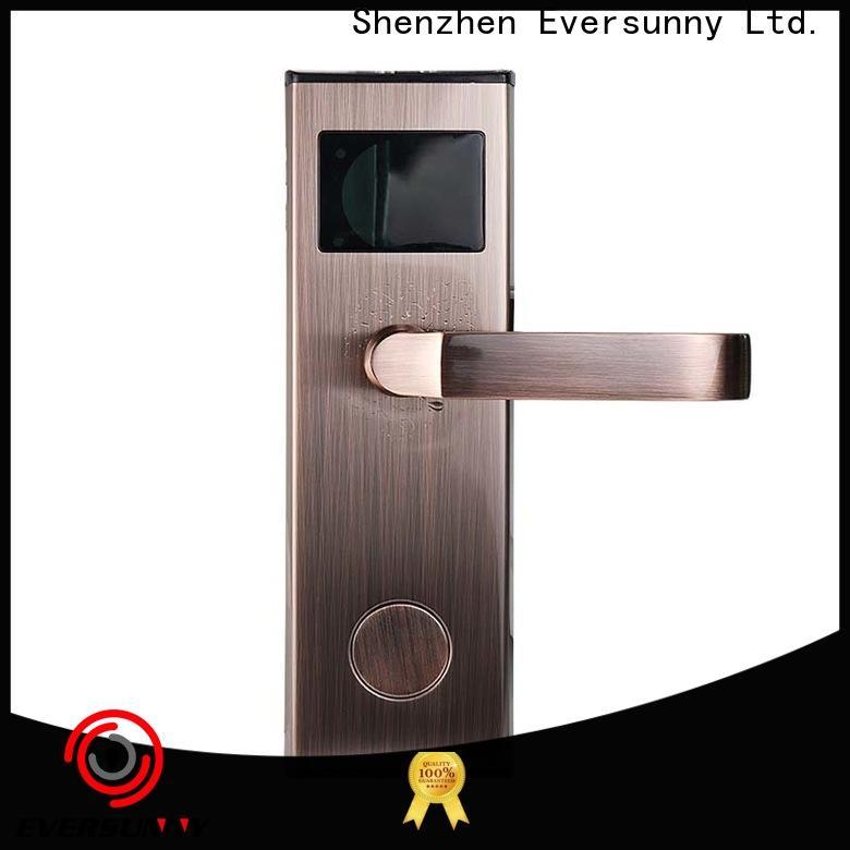 Eversunny rfid card door lock hotel smart locks for door
