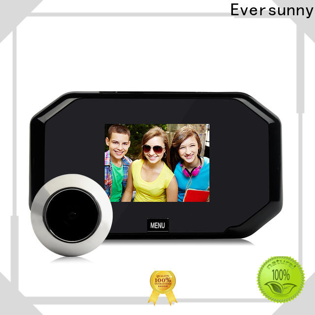 Eversunny security door viewer large wide-angle lens for cottage
