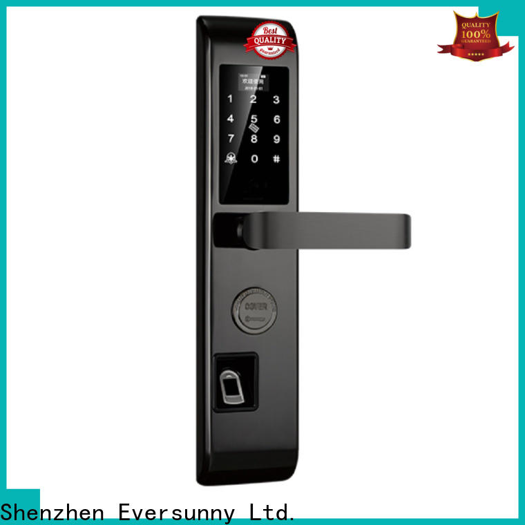 Eversunny keyless entry door lock touch screen for apartment
