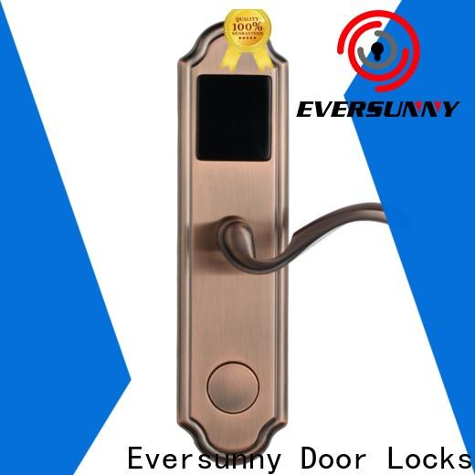 fast keycard lock with central management control system for home