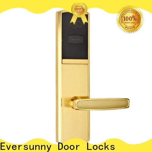 Eversunny hotel room key card system hotel smart locks for home
