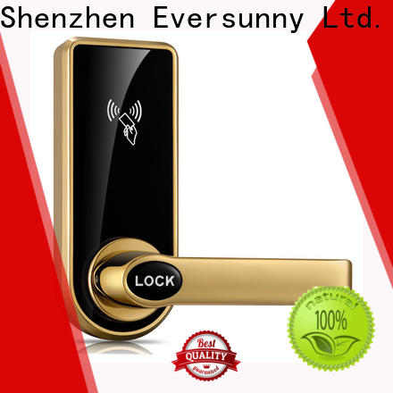 Eversunny Electronic hotel card key system suppliers stainless steel for apartment