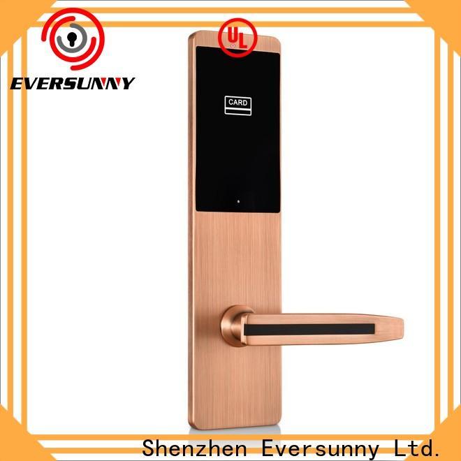 Eversunny Electronic card door lock international standard for apartment