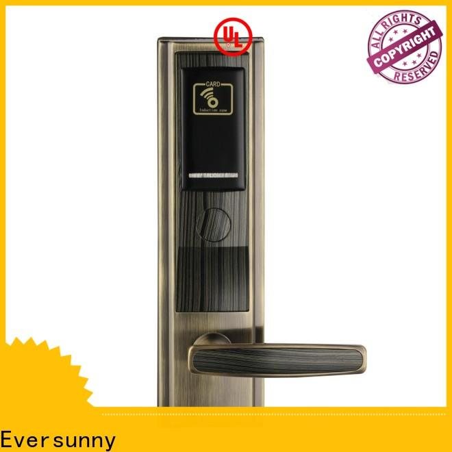 Eversunny card door lock with central management control system for apartment