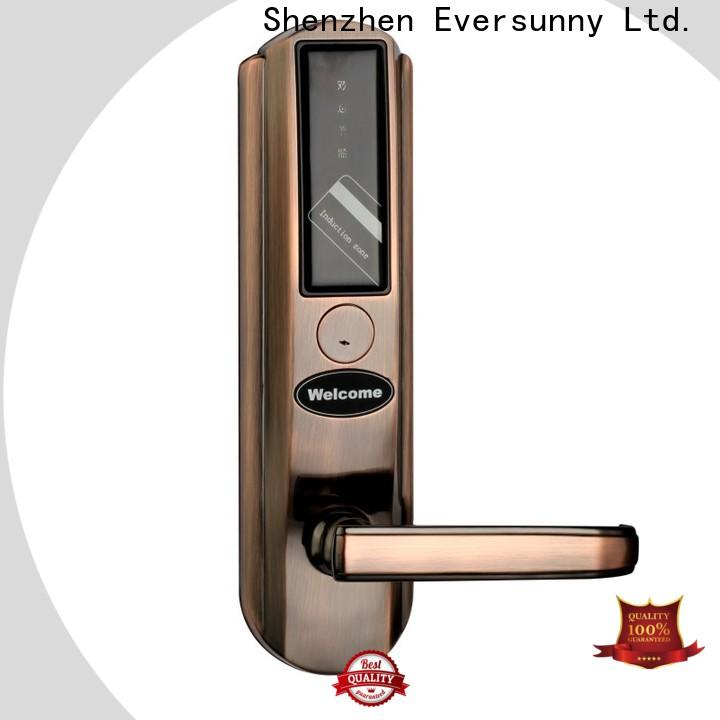 Eversunny hotel card key system suppliers international standard for apartment