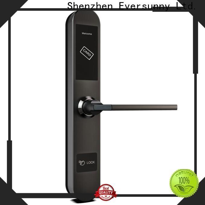 Eversunny card door lock system hotel smart locks for hotel