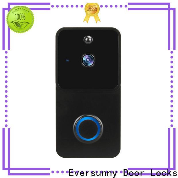 Eversunny ring wifi smart video doorbell hotel smart locks for home