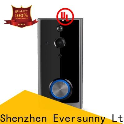 practical wireless front door bell stainless steel for apartment