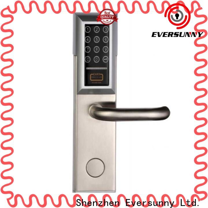 Eversunny front punch code door locks touch screen for door
