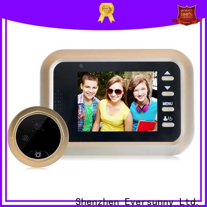 Eversunny digital door viewer china Intelligent for Aluminum alloy door