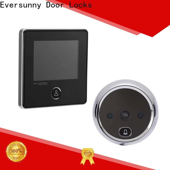 Eversunny best digital peephole security camera for aluminium door