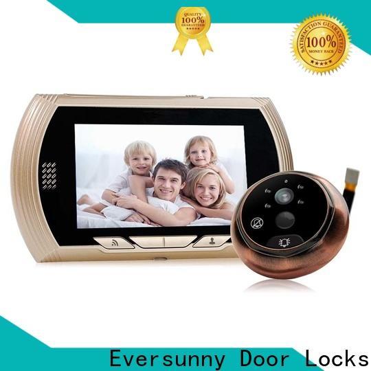 Eversunny visual digital peephole viewer wifi high reliability for peepholecam