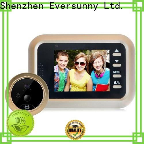Eversunny professional motion activated digital peephole LCD for apartment