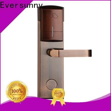 Electronic rfid card door lock system international standard for hotel