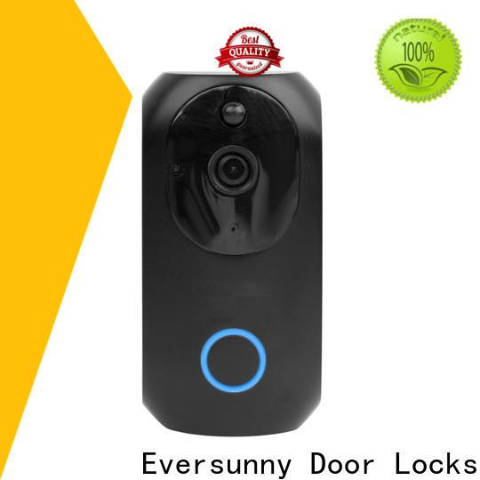 Eversunny convenient ring wifi smart video doorbell hotel smart locks for hotel